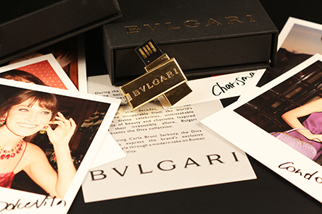 Press Kit Usb Bulgari Diva,