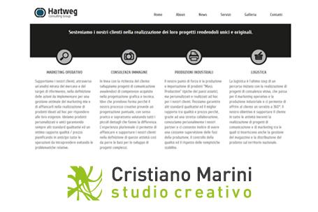 Cristiano Marini Studio, nuova partnership per Hartweg